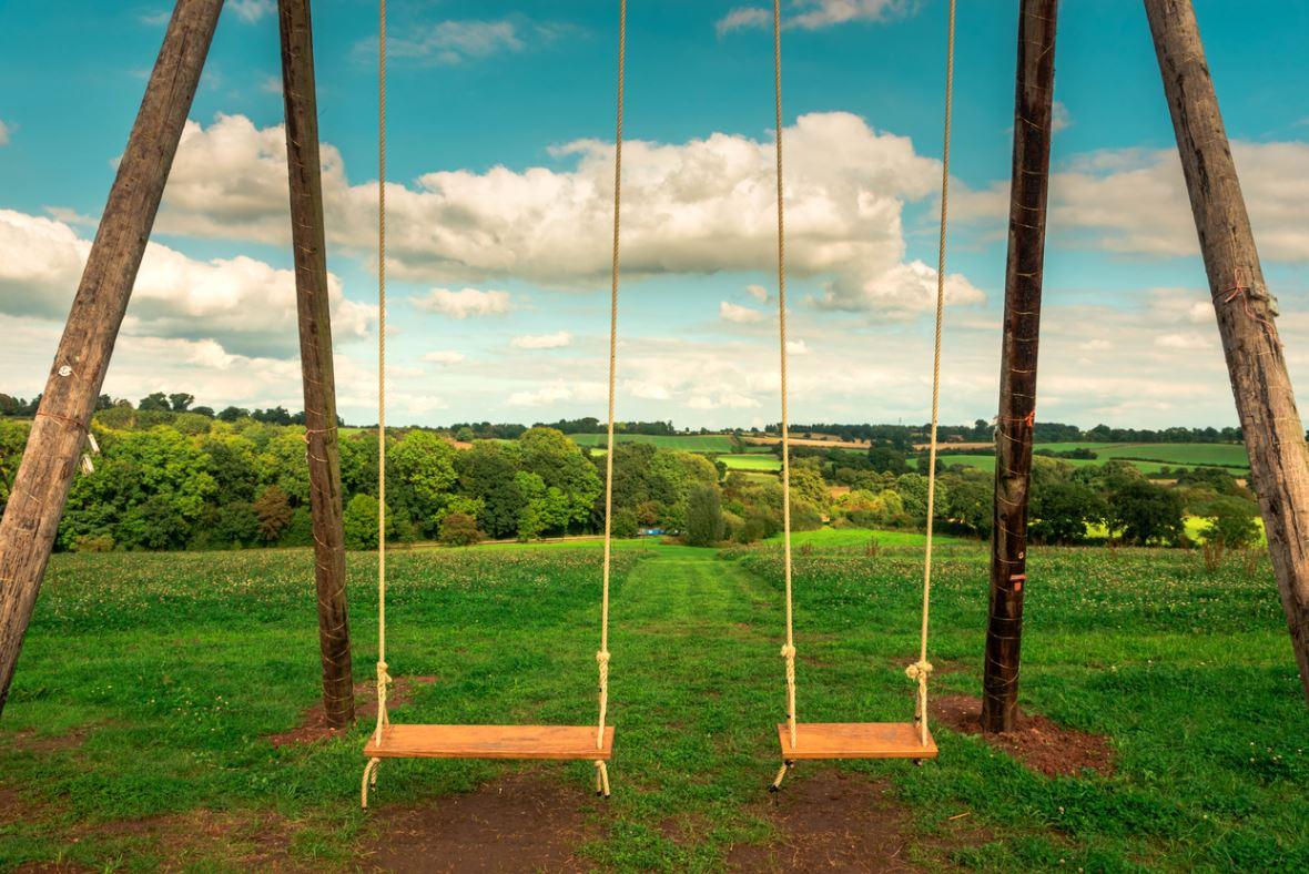 Secure Garden Swing